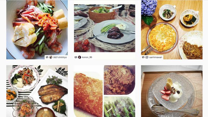 Instagram(インスタグラム)やTwitter(ツィッター)にて愛ある食卓の投稿を募集しております。